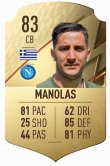 FIFA 22 Manolas