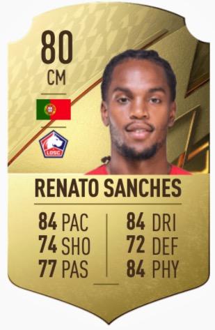 FIFA 22 Renato Sanches