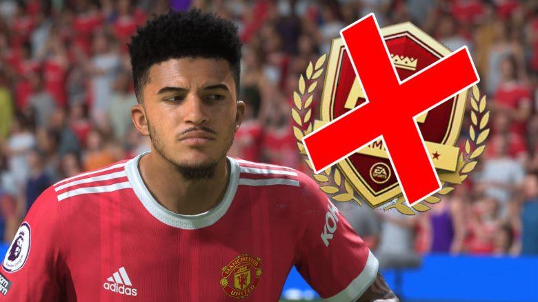 FIFA 22 Weekend League Banns Cheater
