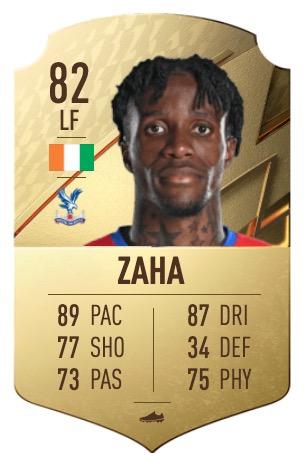 FIFA 22 Zaha