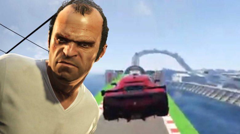 GTA-Online-Trevor-Auto-Rennen-Ziel-Flug-Titel