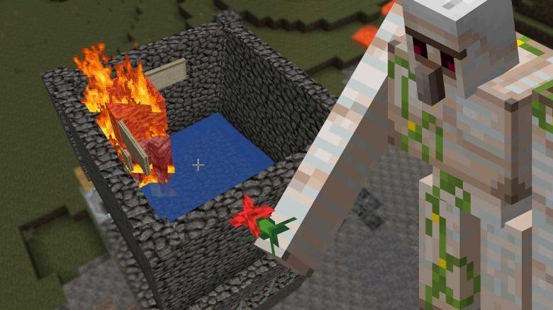 Minecraft-Eisengolem-Farm-Titel