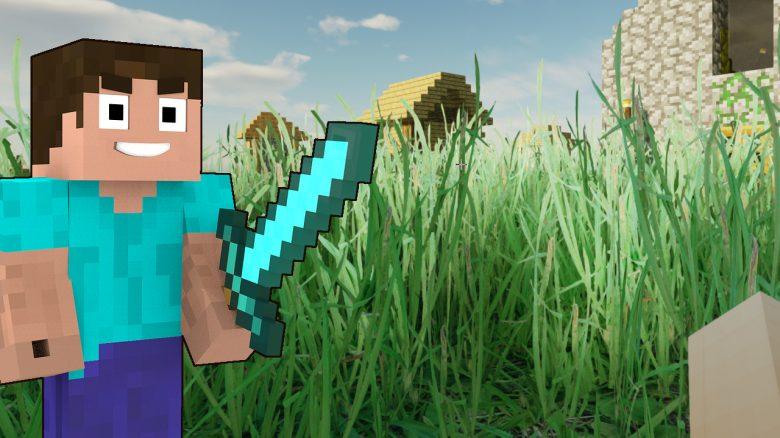 Minecraft Realistic Grass titel title 1280x720