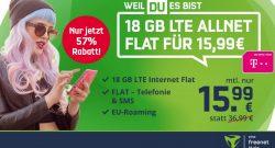 Telekom-Handytarif mega günstig: Flatrate und 18 GB jetzt nur 15,99 Euro