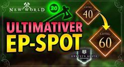 New World: Extrem guter Ort, um Charakter und Waffen schnell zu leveln