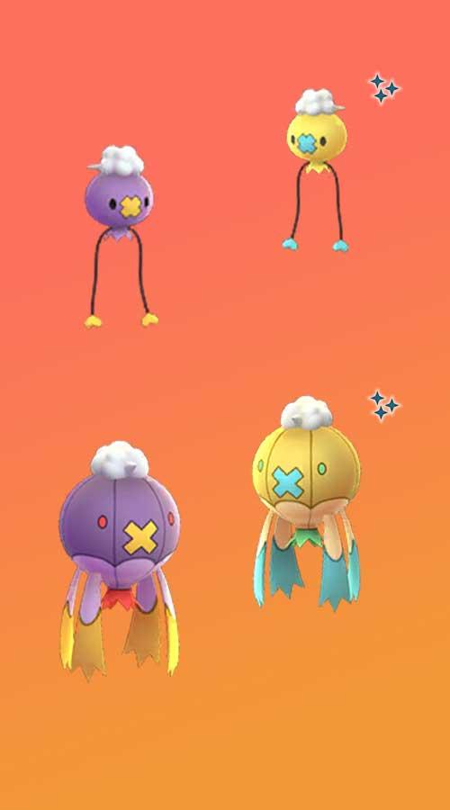 Pokémon-GO-Driftlon-Drizepeli-Shiny-Vergleich