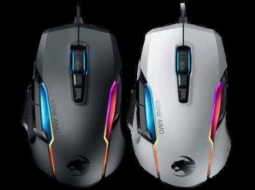Gaming-Maus ROCCAT Kone AIMO in Schwarz oder Weiß für nur 35 Euro bei Amazon.de