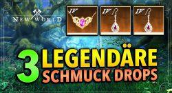 Alle 3 Monster in New World, die legendären Schmuck für euch droppen