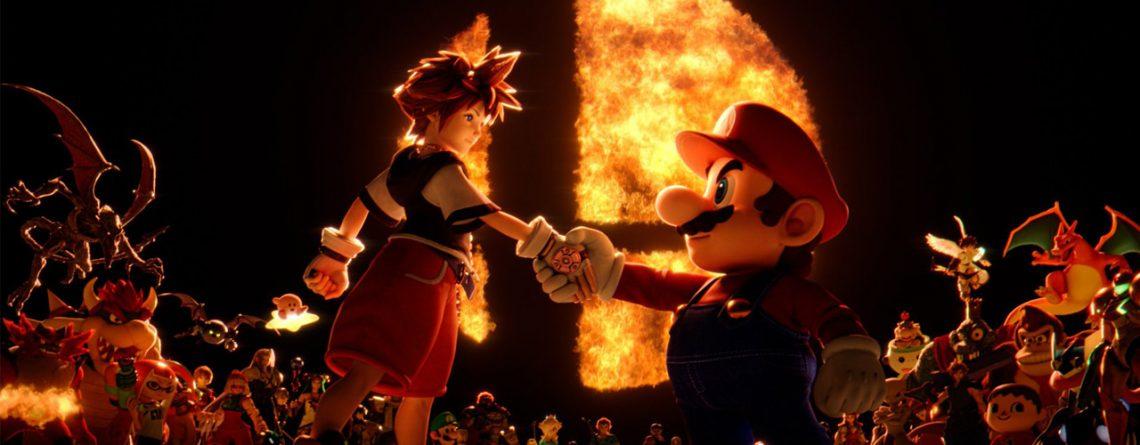 Sora in Smash Bros ultimate_header