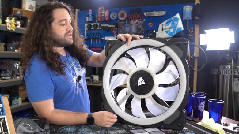 Titelbild YouTuber testet weltweit größten Computerlüfter