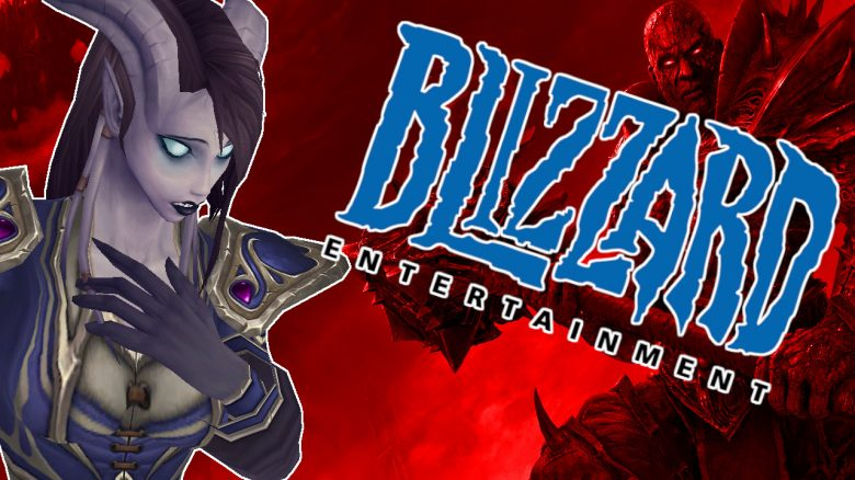 WoW Blizzard Draenei Sad titel title 1280x720