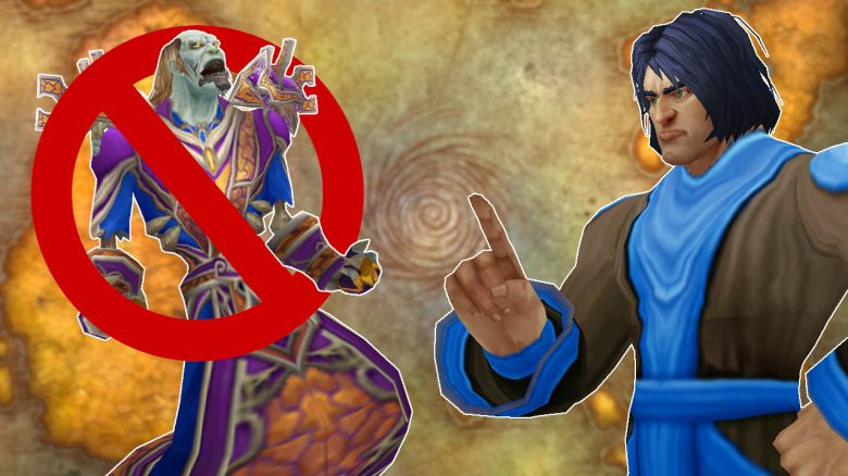 WoW Classic Mage Banned Logo Game Master titel title 1280x720