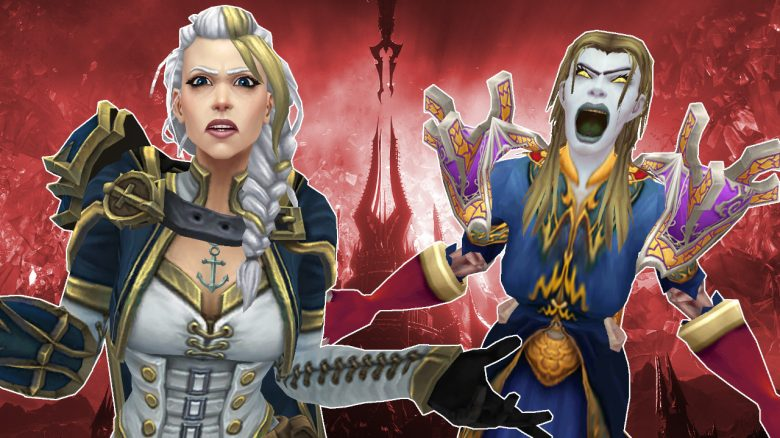 WoW Jaina Undead Mage angry shadowlands titel title 1280×720