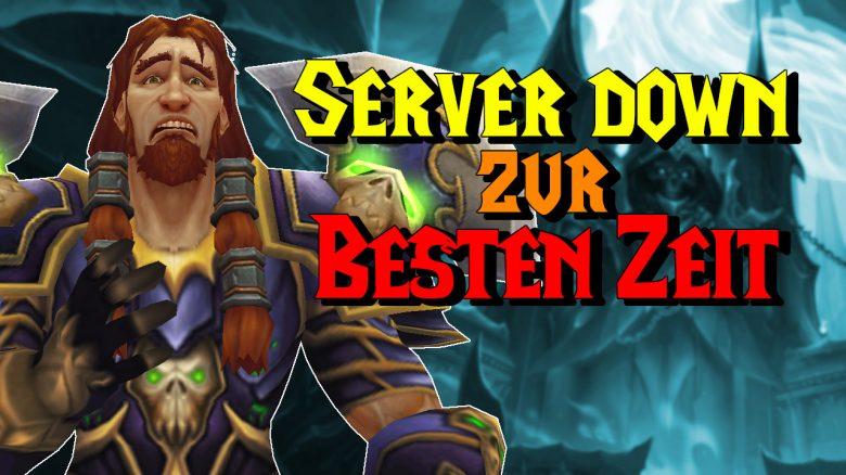 WoW Server down beste Zeit titel title 1280x720