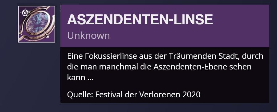 aszendtenlinste-1 - destiny 2