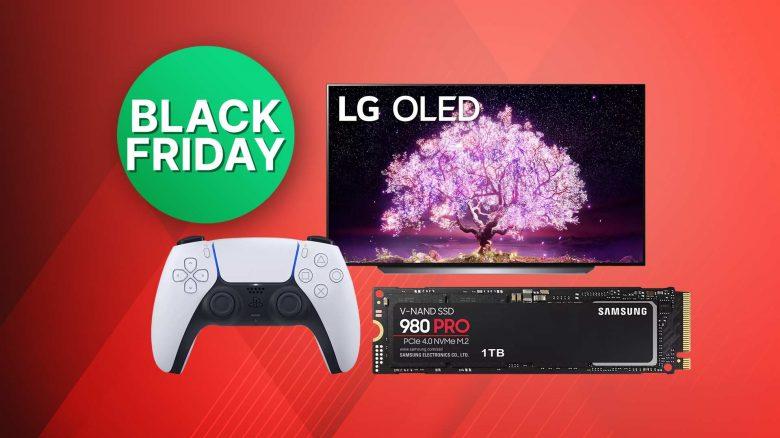 Black Friday PS5 Angebote: Controller, SSDs & 4K TVs
