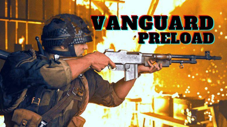 cod vanguard preload und release titel