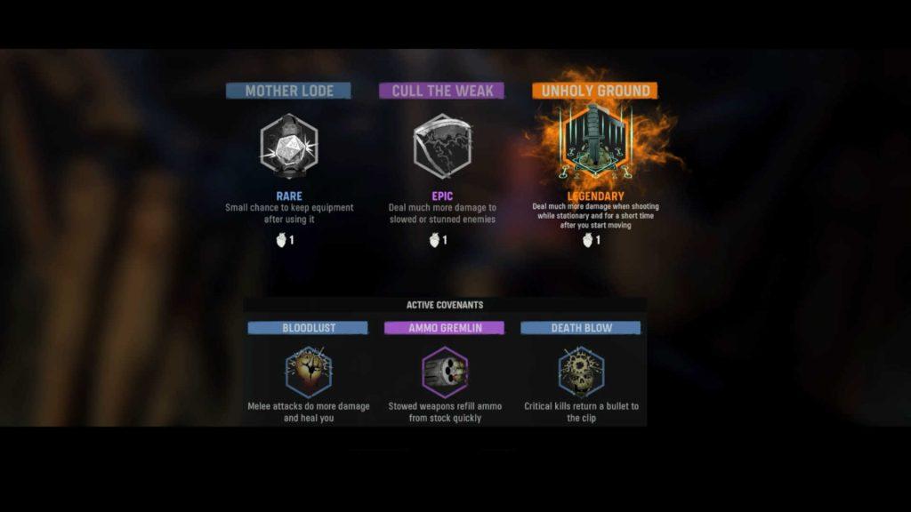 cod vanguard zombie modus random perks