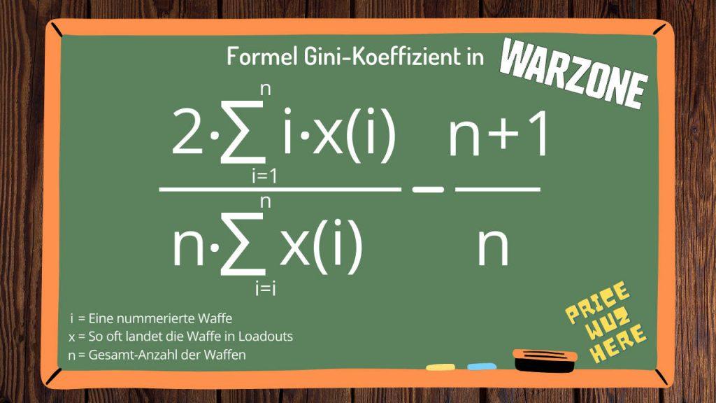 cod warzone formel gini koeffizient