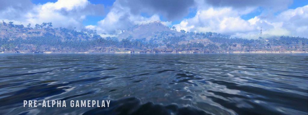 cod warzone pacific map - ausblick vom meer