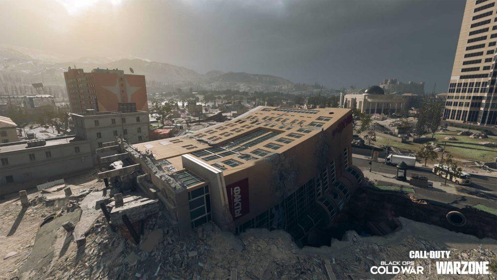 cod warzone season 6 2021 map anpassung downtown