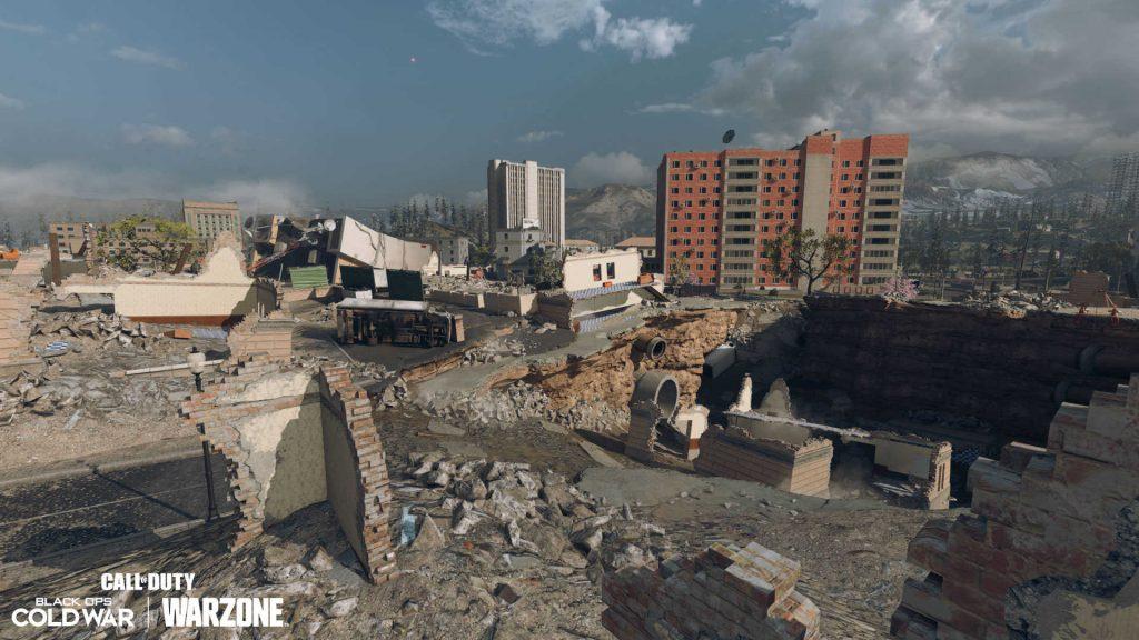 cod warzone season 6 map anpassung - downtown