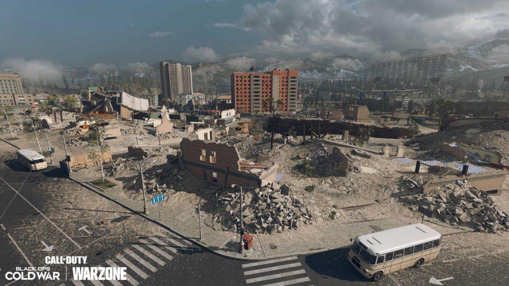cod warzone season 6 map anpassung - downtown 2