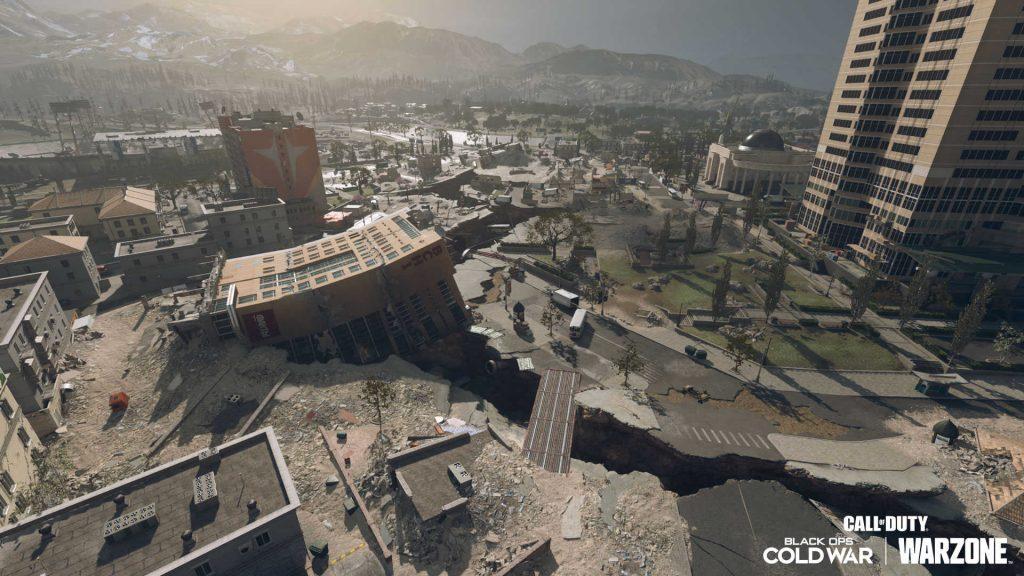 cod warzone season 6 map anpassung - parlament bezirk