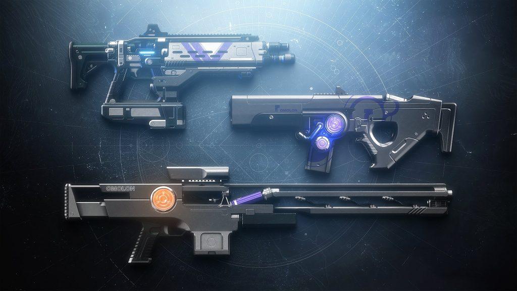 destiny 2-dämmerungswaffen