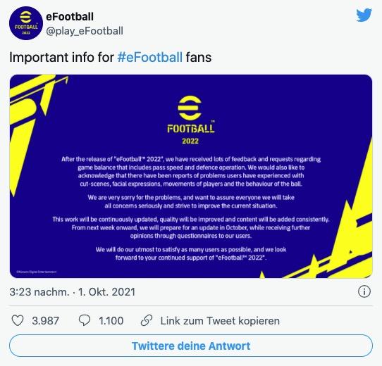 efootball twitter