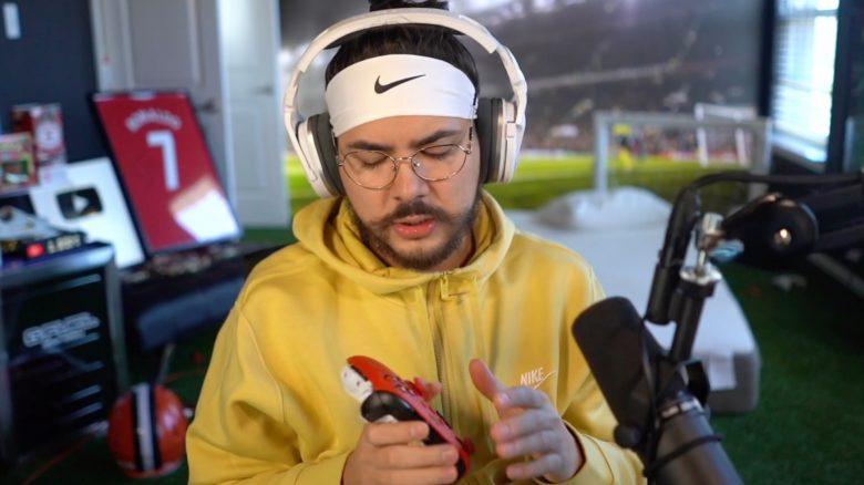Nach Niederlage in FIFA 22: Berühmter YouTuber zerstört seinen Controller brutal