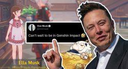 Genshin Impact kuschelt sich zum Entsetzen vieler Fans an Elon Musk ran – Der findet's gut
