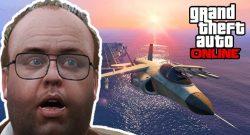 Jet-Pilot in GTA Online stirbt peinlich gegen ein Auto – Spieler feiern wilden Clip